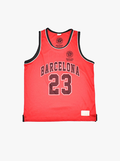 Barcelona Basketball Singlet (XL)