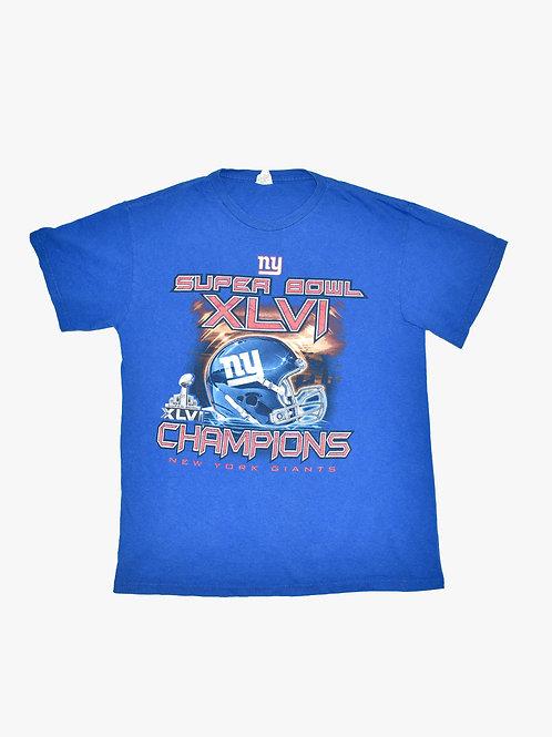 New York Giants 2012 Superbowl Tee (M)