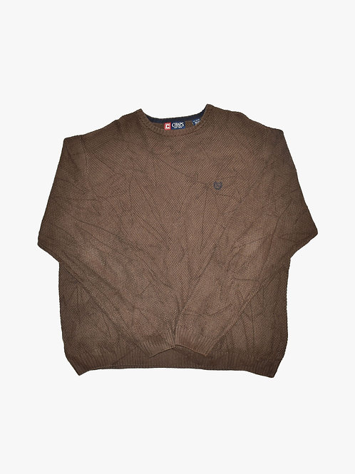 Chaps Brown Sweater (Large)
