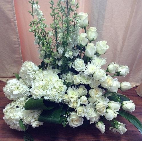 Full Floral Dish