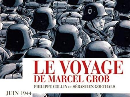 Le Voyage de Marcel Grob de Philippe Collin et Sébastien Goethals chez Futuropolis