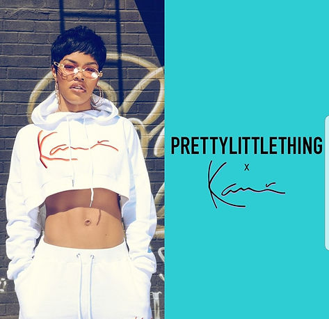 cf86073c4d5d5 I love her too death and she is the shit from her dance moves to her style.  Teyana recently collabed with Pretty Little Thing and Karl kani for the new  ...