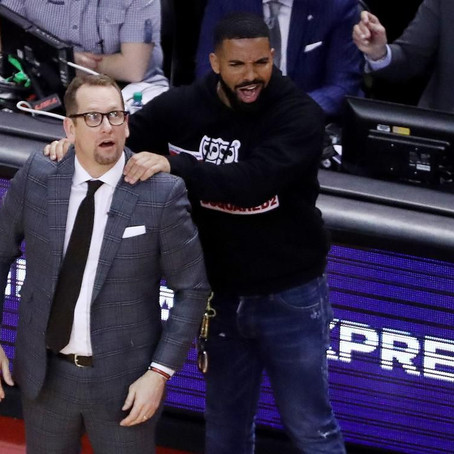 Drake And His Sideline Antics - How Much Is Too Much?