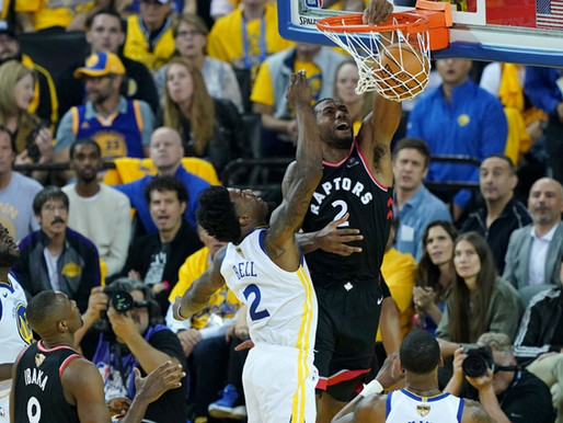Toronto Steals A Win In Golden State. Takes 2-1 Finals Lead