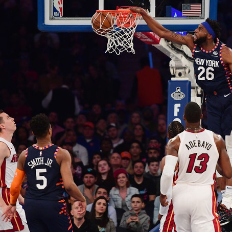What Does The Opening Night Lineup Look Like Without Mitchell Robinson
