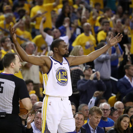 KD Expects To Play In Game 5 (Calf)