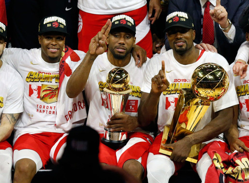 Toronto Raptors Capture First NBA Championship