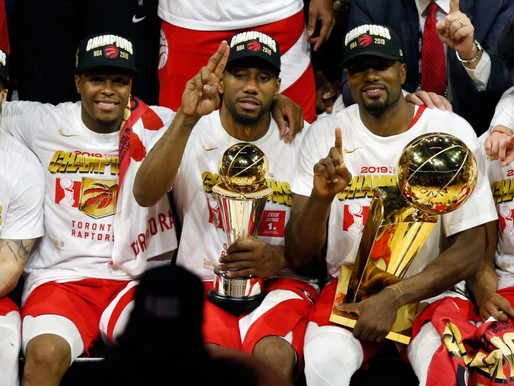 Toronto Raptors Capture First NBA Championship