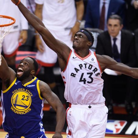 Raptors Take Game 1 In Toronto