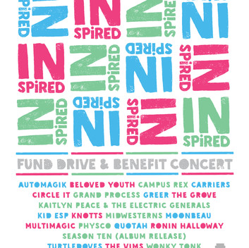Announcing Our Fall Fund Drive & Benefit Concert, Inhailer Radio: INspired