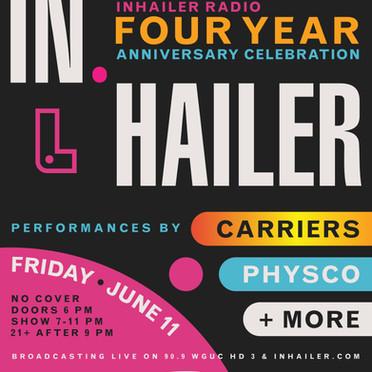 Inhailer Radio's 4th Anniversary Celebration At Fretboard Brewing