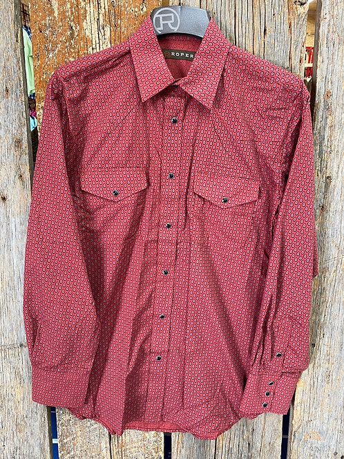 Men's Roper Button Up 0189