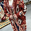 Thumbnail: Aztec Red Brick Fringe Cardigan