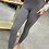 Thumbnail: Soft Charcoal High Waisted Leggings with side pockets