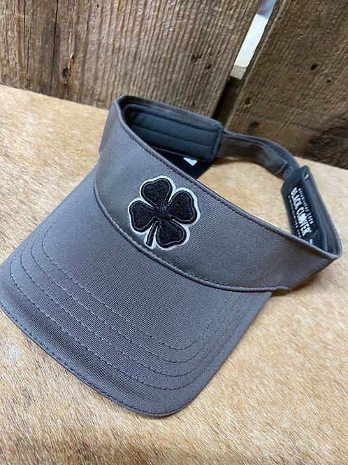 Gray Black Clover Cap
