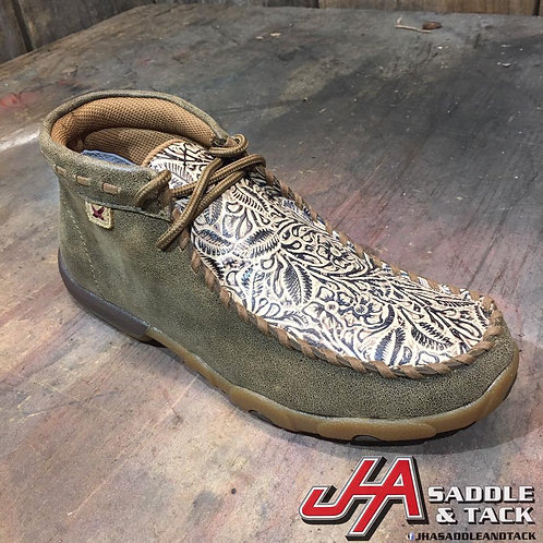 Women's Driving Moccasin – Bomber/Nude Print WDM0080
