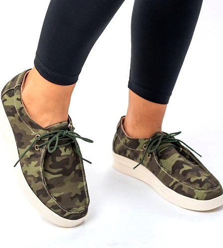 Camo Slip On Bros