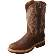 MLCA001 Men's Alloy Toe Lite Western Work Boot