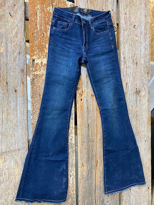 L&B Flares with frayed bottoms 270