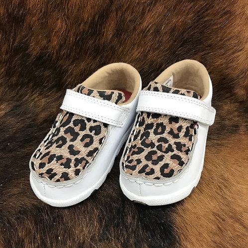 Twisted X Kids - girls white/leopard