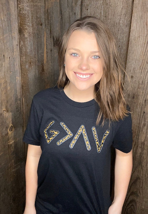 God is Greater than the high and lows Tee