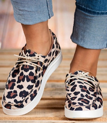 Leopard Slip On Bros