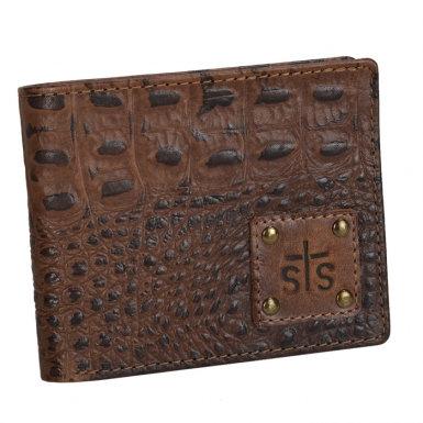 STS - Foreman - Foreman Croc Accent Cash Wallet