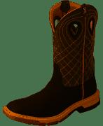 """Twisted X Men's MXBA002 12"""" Alloy Toe Western Work Boot"""
