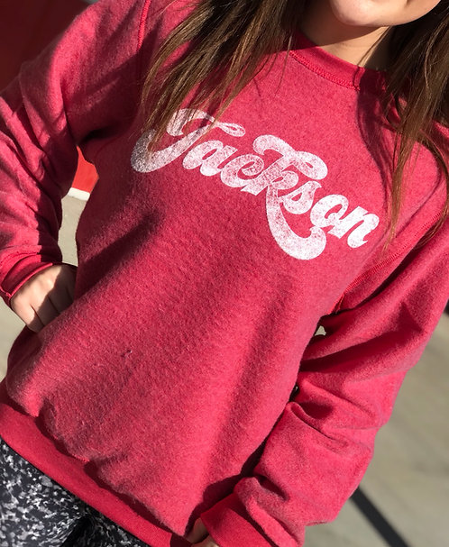 Red Jackson Soft Sweater