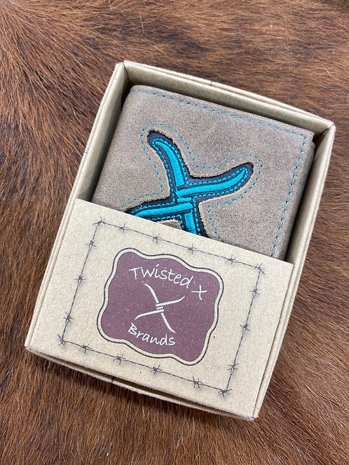 Twisted X Bifold Wallet