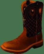 Men's Twisted X Waterproof Cellstretch Western Work Boot Alloy Toe MXBAW01