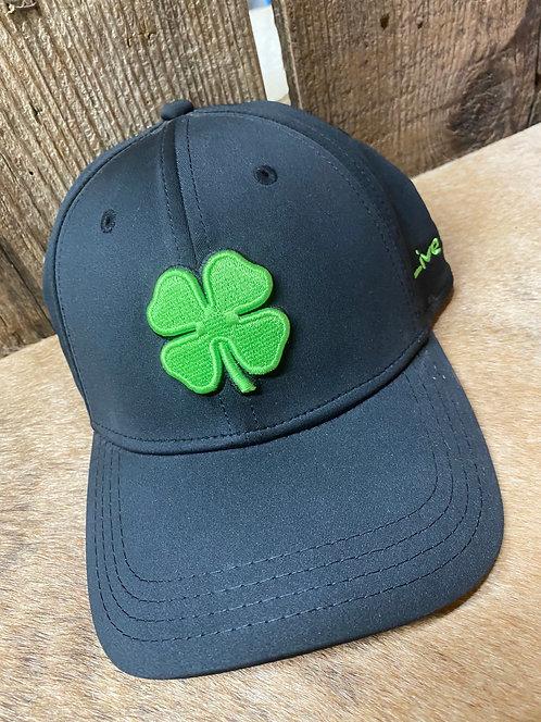 Green and Black Black Clover Flex Fit