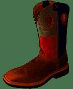 MLCS007Men's Twisted X Lite Cowboy Work Steel Toe Boots