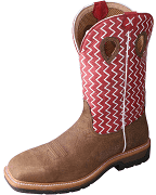 Men's Twisted X Lite Cowboy Cherry Work Boot
