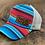 Thumbnail: Race Ranch Serape / Khaki- Ponytail Hat
