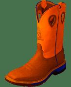 """Twisted X Men's MXBA003 12"""" Alloy Toe Western Work Boot"""