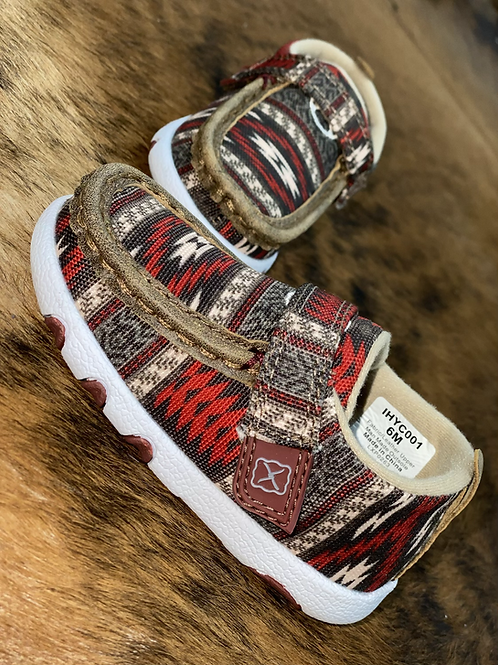 Twisted X Kids - RED AZTEC