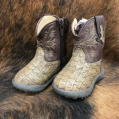 Roper Brown Shaft Boots