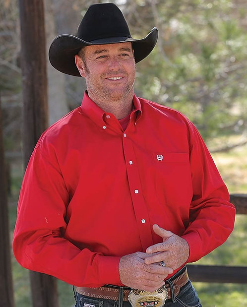 Cinch Mens - Red Classic Fit