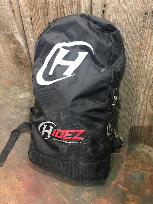 16.2 hidez suit used as tester