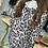 Thumbnail: Leopard Button Accent Hoodie