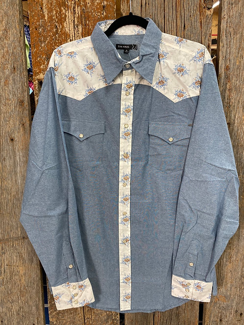 Men's Tin Haul Button Up 0775
