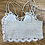 Thumbnail: Creme Lace Bralette Floral