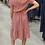 Thumbnail: Dusty Pink Stripe Dress
