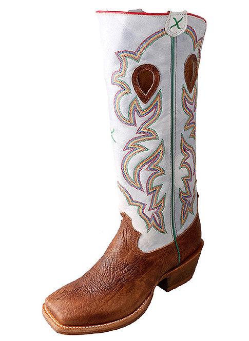 Men's Buckaroo Boot – Cognac Shoulder/Bright White MBKL011