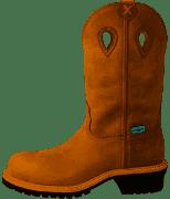 "Twisted X Men's MLGCW01 12"" Comp Toe Pull On Waterproof Work Boot"