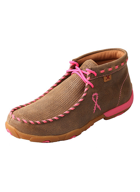 Women's Driving Moccasins – Bomber/Neon Pink Lows WDM0051