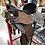 Thumbnail: Team JHA Saddle - Chocolate Padded Seat Round Skirt