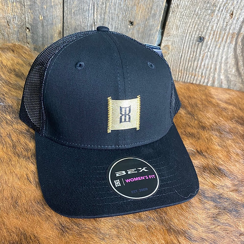 BEX Black and Gold Women's Fit SnapBack