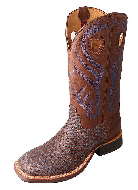 Men's Ruff Stock Boot – Brown/Blue MRS0049